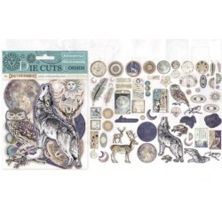 "Stamperia DIE CUTS Elements - ""Cosmos"" / 66 pcs"