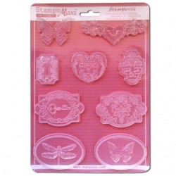 Plastic Mold - Baby Classic / 9 elements