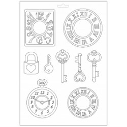 Plastic Mold - Watches and keys / 9 elements