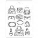 Plastic Mold A4 -  Perfumery - 12 elements
