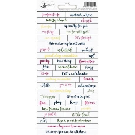 Sticker sheet -   Let's flamingle 01