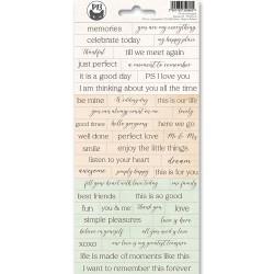 Sticker sheet - Till we meet again 01