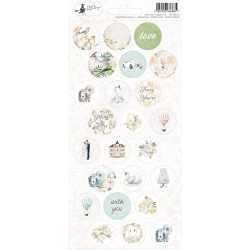 Sticker sheet - Truly Yours 03