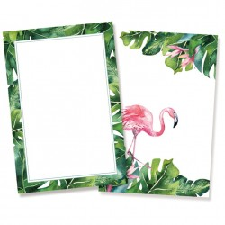 Set of cards - Let's flamingle / 10pcs