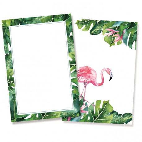 Set of cards - Let's flamingle / 10pcs