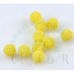 Pearl Beads 10 mm - YELLOW