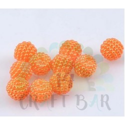 Pearl Beads 10 mm - ORANGE