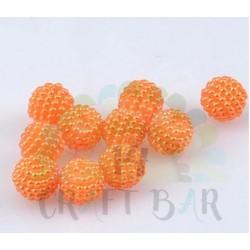 Pearl Beads 10 mm - ORANGE