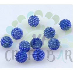 Pearl Beads 10 mm - NAVY