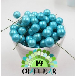 Wire Bead - BLUE