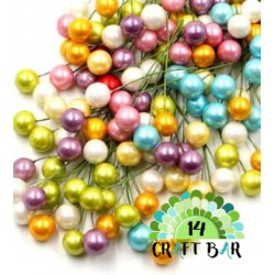 Wire Bead - MIX COLORS