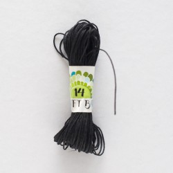 Natural Hemp Cord/BLACK