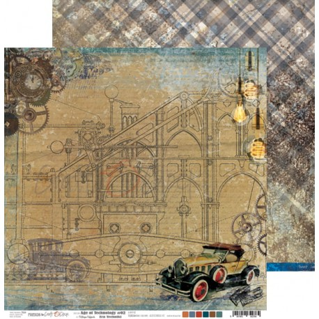 Scrapbooking Papers - Age of Technology  (12x12)