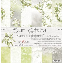 Scrapbooking Papers - Our Story  (12x12)