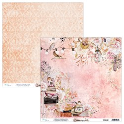 Scrapbooking Paper- 12x12 Sheet - DEAR DIARY 02