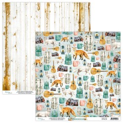 Scrapbooking Paper- 12x12 Sheet -Wilderness 04