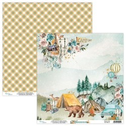 Scrapbooking Paper- 12x12 Sheet -Wilderness 01