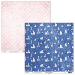 Scrapbooking Paper- 12x12 Sheet - MARINA 04