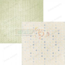 Scrapbooking Paper - 12x12 sheet / Winter Morning