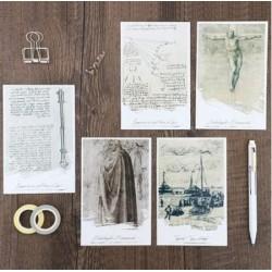 Ephemera cards- Daydream
