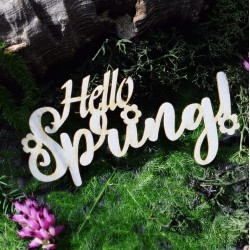 Chipboard - Hello Spring