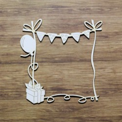 Chipboard - Babyframe with banner