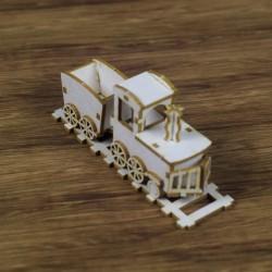Chipboard - Toy /Locomotives 3D