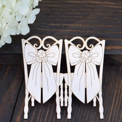 Chipboard - Wedding Chairs