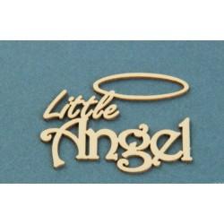 """Chipboard - Little Angel """"B"""""""