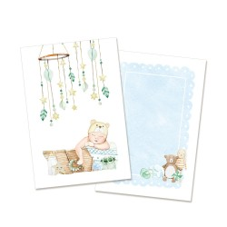 Set of cards - BABY JOY (boy) / 10pcs