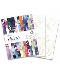 Scrapbooking Paper / Creative Pad - MARBLE
