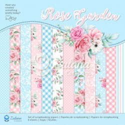 Scrapbooking Papers - ROSE GARDEN