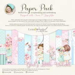 Scrapbooking Papers - GIRL'S LITTLE WORLD