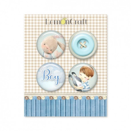 Adhesive Badges / BOY's  LITTLE WORLD