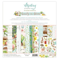 Scrapbooking Papers - BEAUTY IN BLOOM - Pad 12 x 12