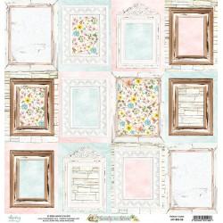 Scrapbooking Paper- 12x12 Sheet -BEAUTY IN BLOOM06
