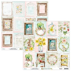 Scrapbooking Paper- 12x12 Sheet -BEAUTY IN BLOOM06