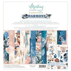 Scrapbooking Papers - HARMONY - Pad 12 x 12