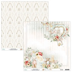 Scrapbooking Papers - TINY MIRACLE - Pad 12 x 12