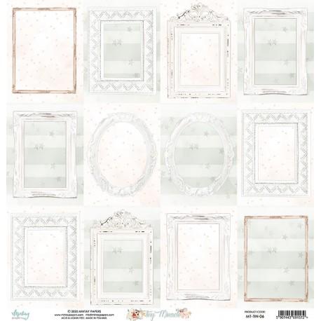 Scrapbooking Paper- 12x12 Sheet -TINY MIRACLE 06