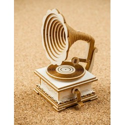 Chipboard - Retro Gramophone 3D