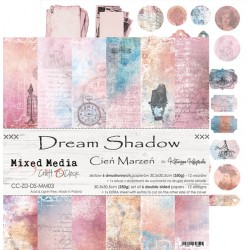 Scrapbooking Papers - DREAM SHADOW (12x12)