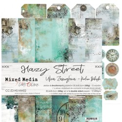 Scrapbooking Papers - HAZY STREET (12x12)
