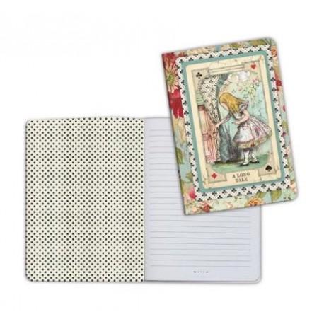 Art journal /Notebook A5 - ALICE CURIOUS