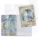 Art journal /Notebook A5 - COSMOS WOLF