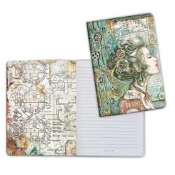 Art journal /Notebook A5 - SEA WORLD LADY
