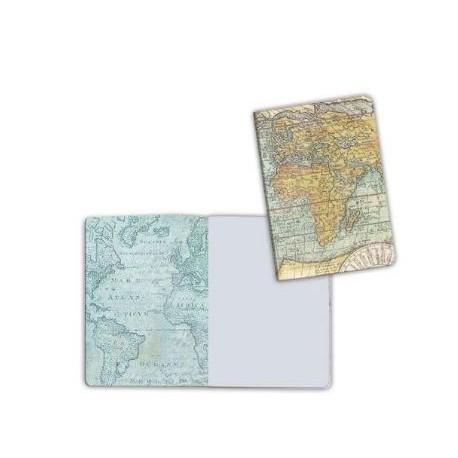 Art journal /Notebook A6 - WORLD
