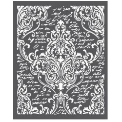 Thick stencil -Stamperia /Ornaments