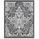 Thick stencil -Stamperia /Ornaments