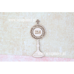 Chipboard - Monstrance / 1pcs
